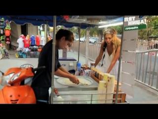 Классное приготовление мороженного - как они это делают («Ролл-мороженое») [Орел и решка, Пхукет, 2016]