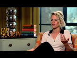 'Cafe Society' junket Kristen - Trust me I could be super girly and lady like and sweet