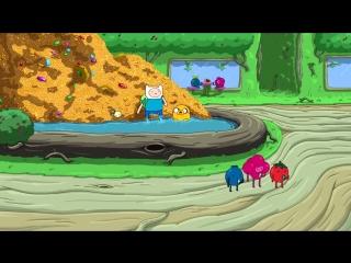 4 серия - 2 часть - 6 сезона мультсериала — «Время приключений» - Мебель и мясо - в озвучке от Зебуро