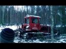 спасаю трактор юмз из болота