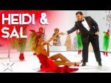 Heidi Klum Performs 'Santa Baby' Duet with Sal Valentinetti Holiday Spectacular!