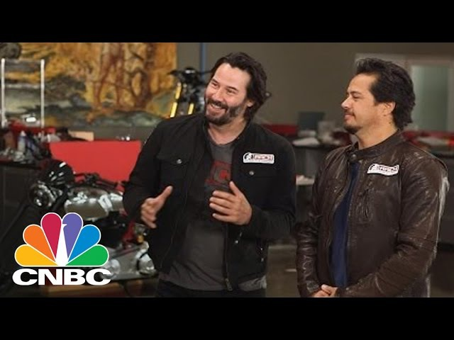 Keanu Reeves Takes Star Power On The Road With Arch Motorcycle | Squawk Box | CNBC