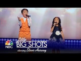 Little Big Shots - Amazing Kids Singing Duo (Episode Highlight)