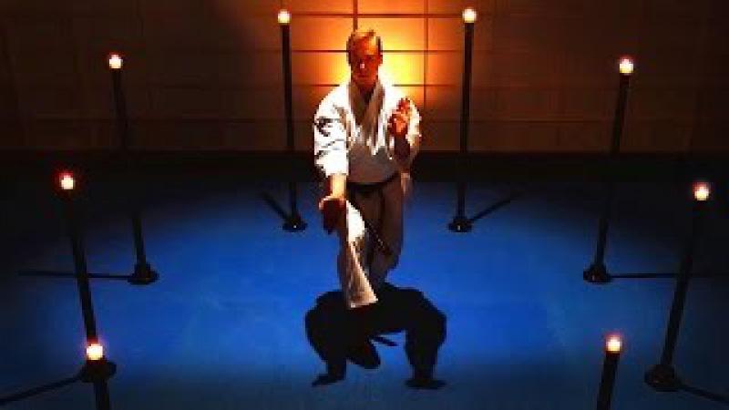 KARATE ON FIRE Amazing Karate Candle Extinguishing Jesse Enkamp