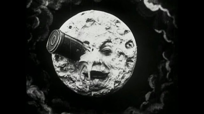 Le Voyage Dans la Lun (A Trip to the Moon) by Georges Méliès (1902)