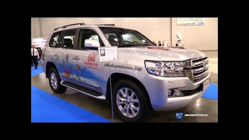 Toyota Land Cruiser V8 - Exterior Walkaround - 2016 Moscow Automobile Salon