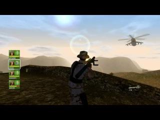 Конфликт: Буря в пустыне - Conflict: Desert Storm - прохождение - миссия 7 - Огнем и мечом