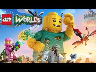 LEGO Worlds - Console Announcement Trailer