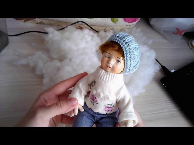 Как набивать куклу Плотная набивка авторской куклы How to stuff your doll