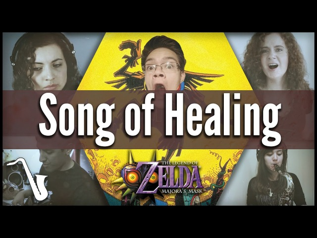 LoZ Majora's Mask Song of Healing Jazz Cover insaneintherainmusic feat WowieTalk
