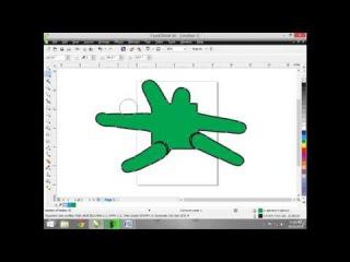 Corel Draw X6 Tutorials in Urdu Hindi part 7 smudge brush tool