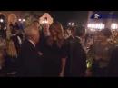 Donald Trump, Melania Trump, Japanese PM Abe & Robert Kraft Diner at Mar-A-Lago