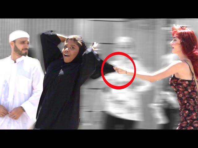 MUSLIM HIJAB HARASSMENT EXPERIMENT IN RAMADAN