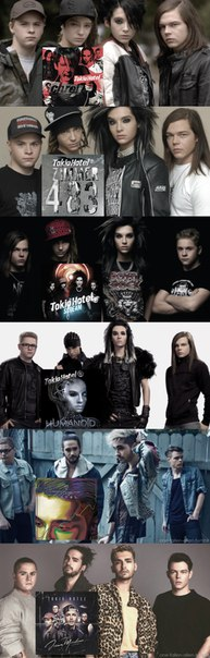 Tokio Hotel Schrei | Zimmer 483 | Scream | Humanoid | Kings of Suburbia | Dream Machine