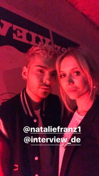 Bill Kaulitz, Natalie Franz 2017 @interview_de #InterviewFiveFabYears