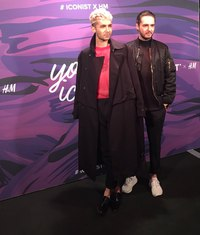 Bill Kaulitz, Tom Kaulitz #ICONISTxHM Party - Berlin, Germany 14.02.2017