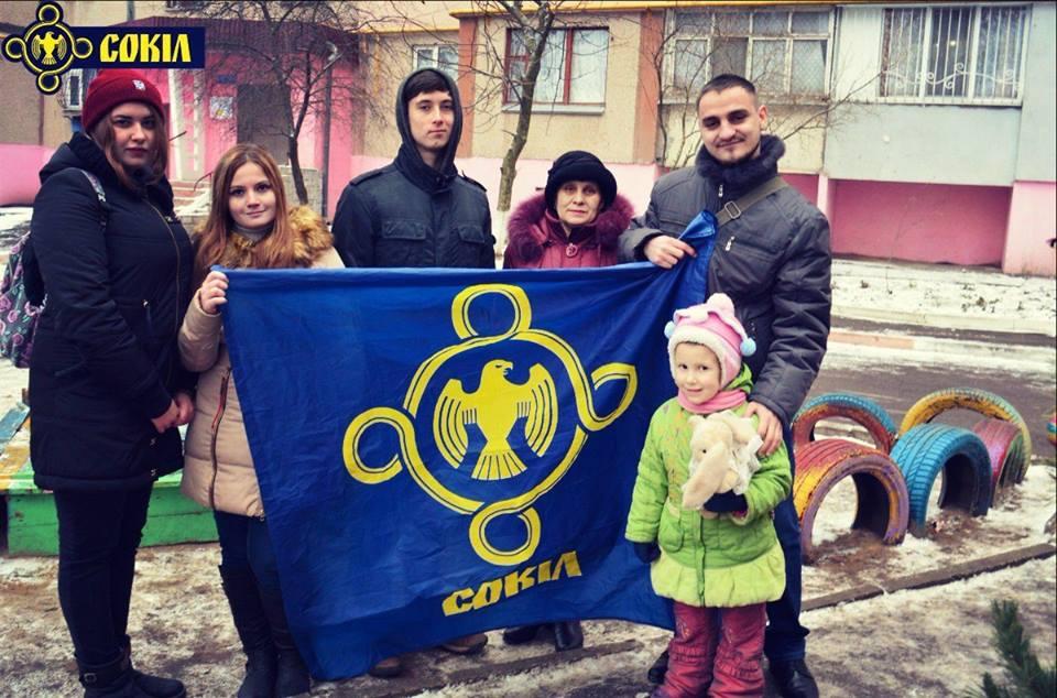 Активісти привітали зі святами дітей з малозабезпечених сімей