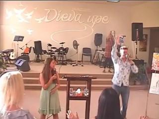 1 Дэвид Херцог - Слава и небесный суд in River Church Riga 06 08 13