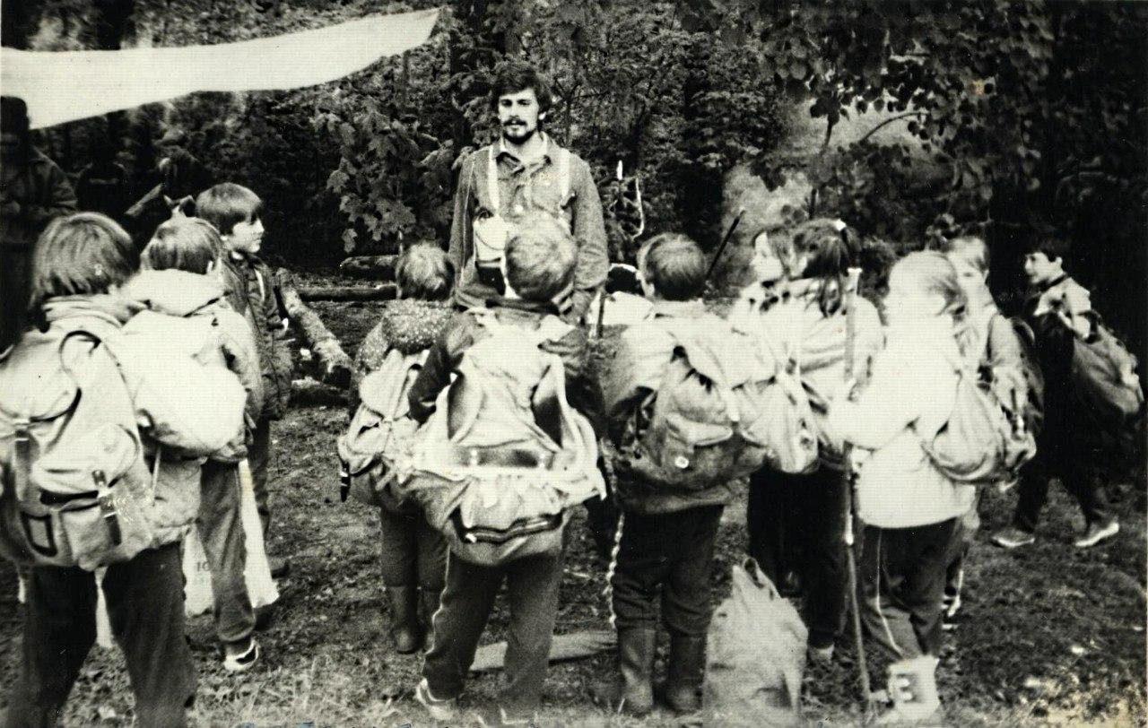 """отряд """"ГЕЛЕОС"""" 19 мая 1990 года. Ромашково"""