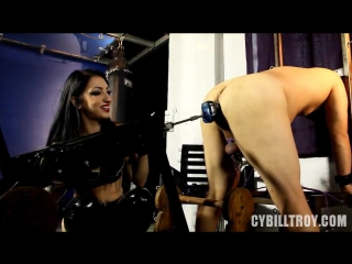 Cybill troy - fucking machine cane punishment