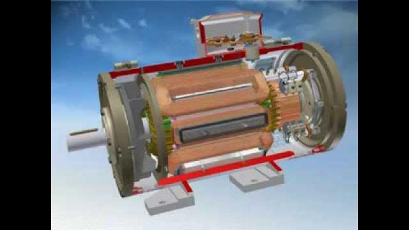Сборка электродвигателя постоянного тока