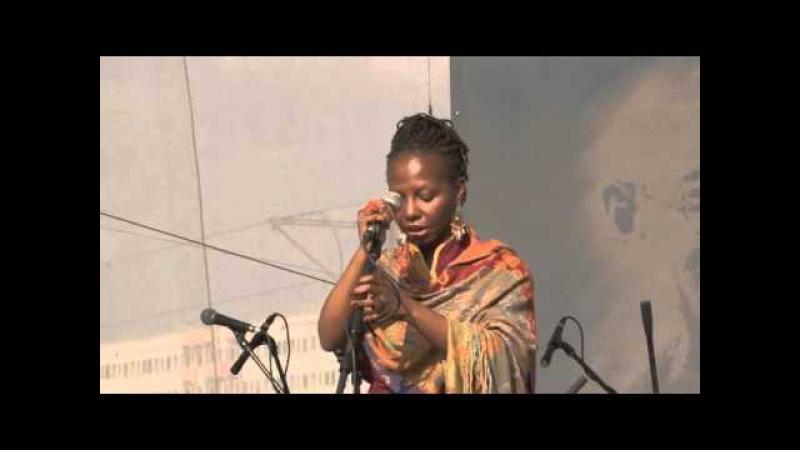 Rachel Jeanty - 5. Friedensfestival Berlin 2013