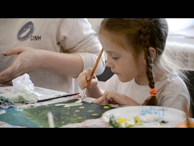 Мастер-класс по рисованию мятой бумагой для всей семьи