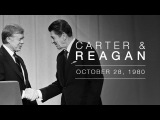 1980 Presidential Candidate Debate Governor Ronald Reagan and President Jimmy Carter - 102880