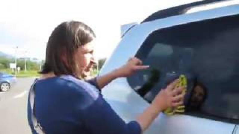 Полотенце GreenWay позволяет мыть машину легко и быстро без химии 89609394133 Алексей