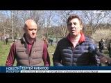 Весенний субботник в Одессе: в парках города высадили сотни новых деревьев