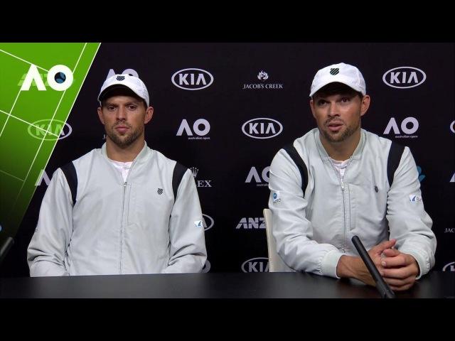 Bob Bryan/Mike Bryan press conference (Final) | Australian Open 2017