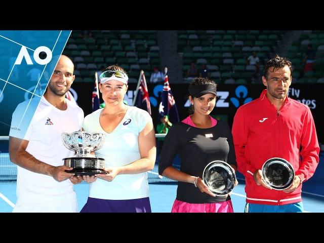 Spears/Cabal v Mirza/Dodig match highlights (Final)   Australian Open 2017