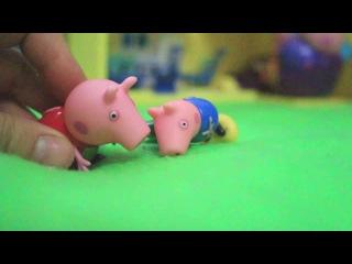 свинка пеппа 100 серий подряд новые при новые 2016 игрушки