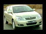 Toyota Corolla RunX ZA spec