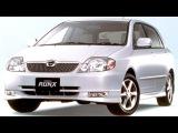 Toyota Corolla RunX JP spec