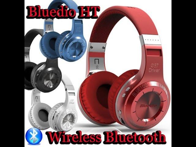 ОБЗОР/ИНСТРУКЦИЯ Беспроводные Bluetooth наушники Bluedio H Turbin