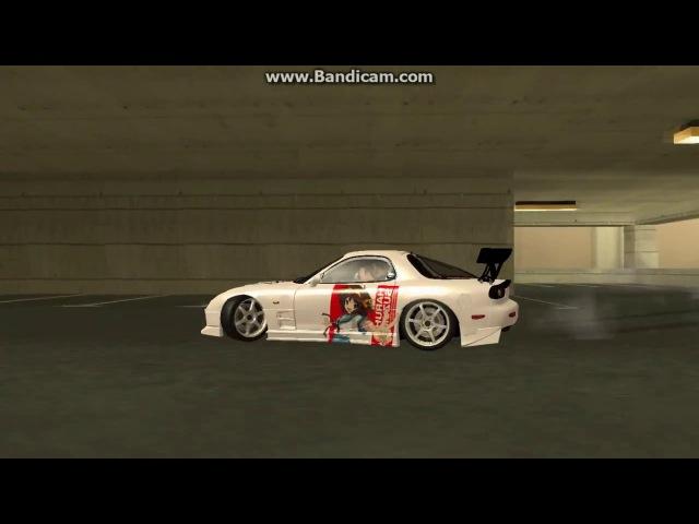 Дрифт от Кинга на Mazda RX 7