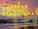 When I Think of You (Lyrics) - Leif Garrett