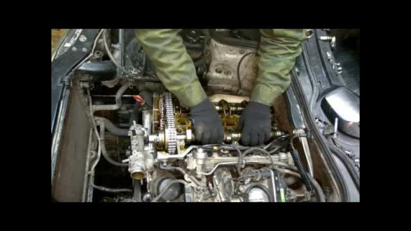 Mersedes M111. Фазорегулятор. Как все-таки правильно поставить цепь на M111.945