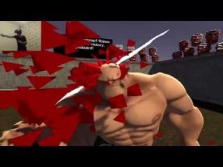 GORN Smashing Heads In VR (HTC Vive Gameplay)