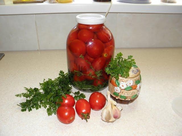Квашеные помидоры как бочковые.