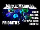 Eugene Ryabchenko - Void of Madness - Priorities (drum cam)