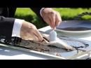 1 Mois, 1 Découpe - Bar de ligne cuit en croûte de sel