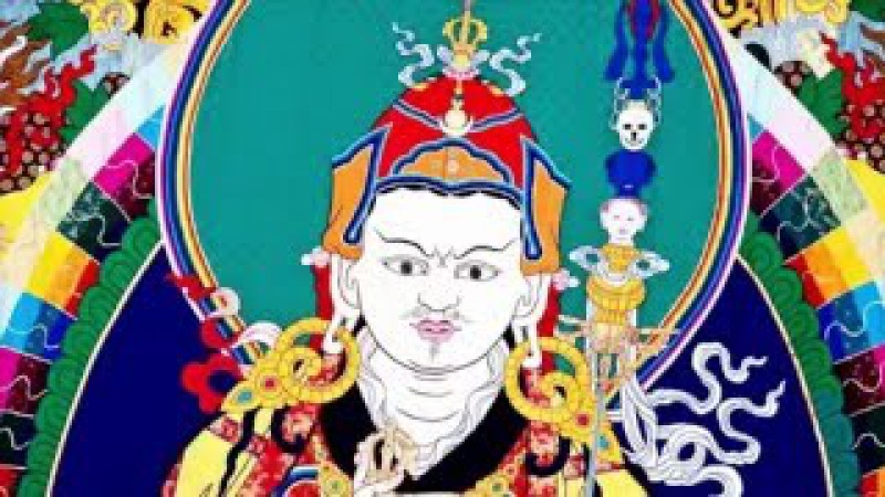 Om Ah Hum Vajra Guru Padma Siddhi Hum - Padmasambhava Guru Rinpoche mantra .