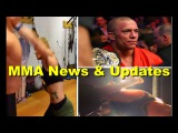 MMA News & Updates; Luke Rockhold training for Jacare; Cat Zingano striking from different angle;