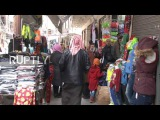 Syria: Aleppos famous street market reopens after two years of closure