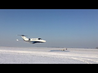 Dream Aero. Cessna 525 Low pass