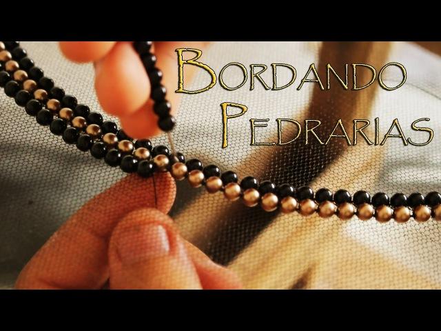 COMO BORDAR PEDRARIAS - Embroidery Needles
