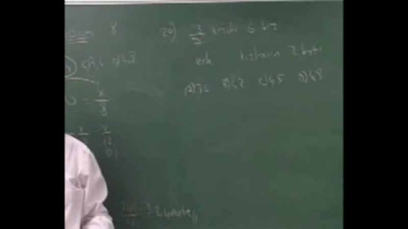 Matematik - 26. Denklem Kurma - 2