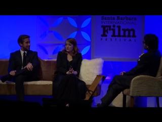 SBIFF 2017 - Ryan Gosling Emma Stone Discuss Making La La Land